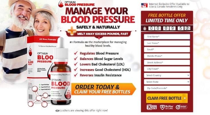 blood pressure benefits